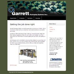 Garrett Packaging Systems